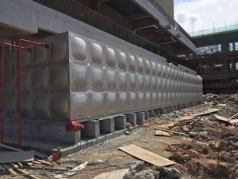 组合式不锈钢水箱 消防水箱,华腾达水箱厂定制加工,现场安装