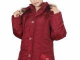 冬装羽绒棉服女式棉衣中长款修身连帽中老年棉袄外套厂家批发