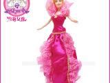 雪莉女孩娃娃配件玩具配件别致花仙子裙子多