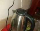 电水壶,单煤气灶头,和电饭煲。