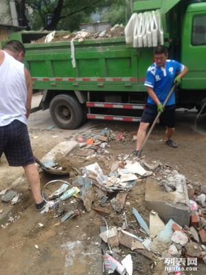 北京市家庭二次装修垃圾清运大兴拉渣土价格低干活实在