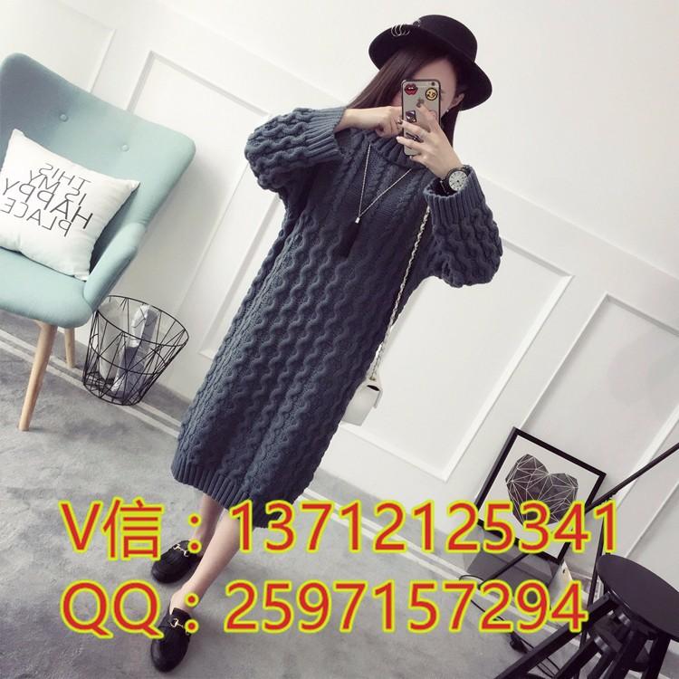 云安哪里地摊货毛衣批发市场韩版开衫针织衫中长款套头毛衣批发