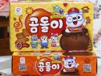 韩国进口休闲食品九日牌熊宝贝酥性一饼干55克*24盒(