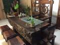 应老船木家具客厅茶几仿古功夫茶台实木茶桌椅子简约茶艺桌