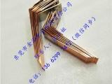 铜排折弯工艺 铜排折弯价格 品质保证金泓铜排折弯精良生产