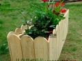 防腐木花箱定做户外组合花箱木花盆碳化木花架花槽花车