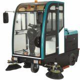 电瓶电动式扫地机 市政环卫工业工厂车间用全封闭驾驶式扫地车