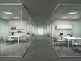 潘家园安装玻璃厂家隔断 屏风玻璃隔断安装