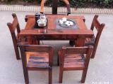 北京老船木家具茶桌船木龙骨茶桌茶台船木大板台批发