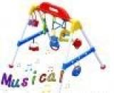 玩具混批 婴儿音乐健身架 婴儿健身器 塑料玩具 小额批发