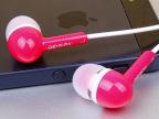 正品阿波罗克Q7立体声音乐手机耳机 彩色带麦手机耳机 1个起批