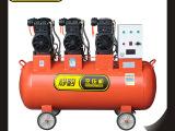 供应JB153-200L中型无油静音空压机 静豹空压机 气动工具