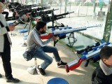 小孩小型游乐场设备射击设备游乐气炮