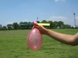 厂家直销diy科技小制作气球飞机  科教