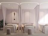 济宁美容院装修案例 美容会所设计 美容SPA装修