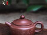 一件代发 正品名家全手工紫砂壶宜兴紫砂原矿紫泥德钟壶茶壶茶具