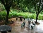 天然泉水泳池,不拥挤 环境优美,交通方便