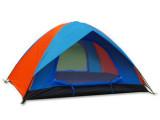双人双层帐篷 双人湖畔营 户外野营帐篷 防雨帐篷 露营