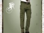 厂家直销 秋冬新品男式工装长裤水洗全棉品质男装男式休闲裤代发