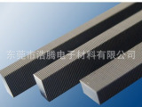 厂家热销灰色导电胶条 各种尺寸导电胶 成型特种导电胶条