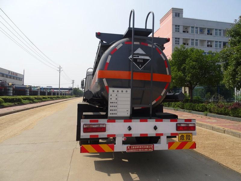 危险品槽罐车8吨化工衬塑罐式车油罐车八类危险品运输车