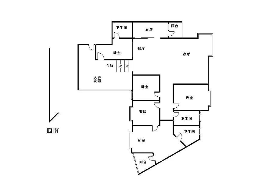 世纪村花园二期154平4房租18000元 拎包即可入住