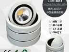 厂家新款COB筒灯LED太极射灯 服装店