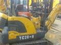 二手玉柴YC35-7挖掘机出售/小型13,18,20推荐小挖