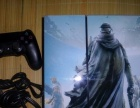PS4游戏机+血源 单原装无线手柄500G