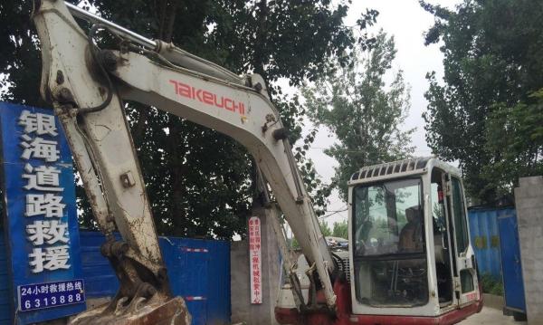 挖掘机竹内低价出售挖掘机