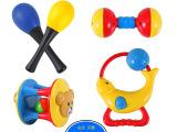 益智摇铃 5只装儿童手摇铃套装 婴幼儿宝宝玩具 0-1岁早教礼物