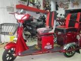 老年电动三轮车代步车残疾人三轮电动康复车