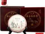 福建福鼎白茶饼礼盒装 陈年寿眉老白茶木盒