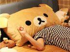 可爱小熊抱枕双人枕头大号靠垫靠枕毛绒玩具 批发