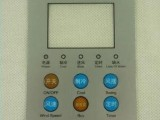 广州白云区EL按钮背光键盘膜开关,激光机薄膜开关
