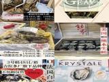 广州荔湾区进口法国生蚝批发零售,进口生蚝批发