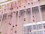 厂家直销1米*2米节节高线帘 门帘浪漫玫瑰穿花线帘隔断帘装饰帘