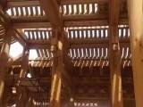 四川成都厂家上门施工餐饮茶楼仿古门楼 防腐木门窗