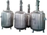 秦皇岛市处理5台二手1000L不锈钢反应釜