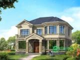 复古二层小别墅设计图,美观实用