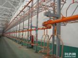 中山五金喷涂厂静电喷塑烤漆固化自动线回收/收购喷粉烤漆线
