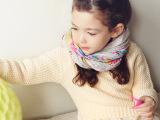 品牌韩版童装 女童装女童毛衣 中小童保暖毛衣纯色开肩系带可外穿
