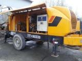 杭州出租混凝土泵车载泵拖泵 合理