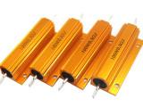 RX24 100W黃金鋁殼電阻加線條形