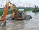 郴州市北湖区水上挖掘机出租水陆两用挖掘机出租