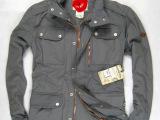 批发2012新款美国名牌工装品牌外贸出口原单正品男式休闲风衣外套