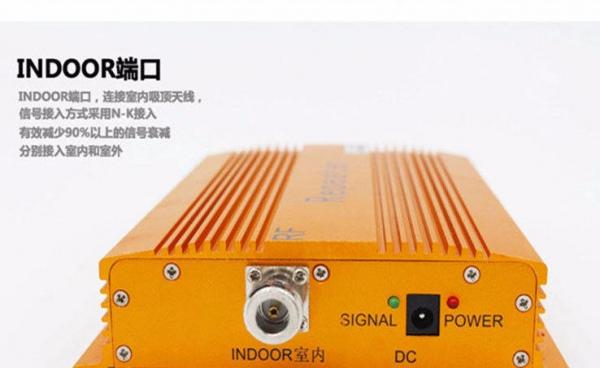 移动联通手机信号放大器增强器安装调试图片