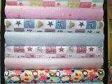 现货足米厂家直销淘宝代发提供数据包卡通印花布料宝宝棉服布料