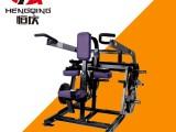 蚌埠商用健身器材健身房力量器械悍马器械坐式下压三头肌训练器