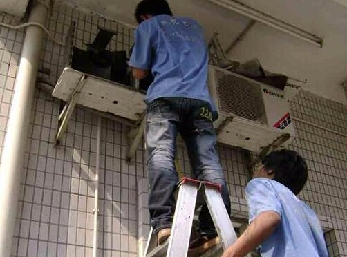 无锡新吴区梅村镇 空调清洗 维修空调